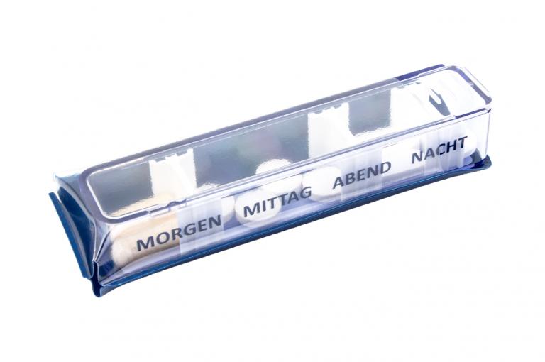 Medidos-DE-No3U-Sleeve-Classic-Saphire-Closed-pill-dispenser-Kibodan-danish-design