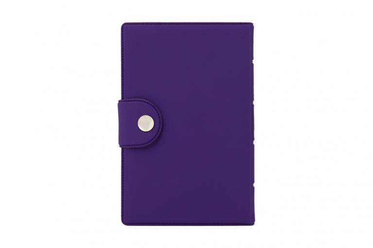 Medidose-XX-No1-Soft-Touch-Purple-Lemon-Closed-pill-dispenser-Kibodan-danish-design