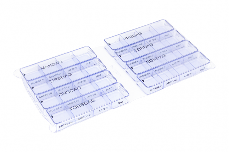 Medimax-DK-No2-Clear-Open-pill-dispenser-Kibodan-danish-design