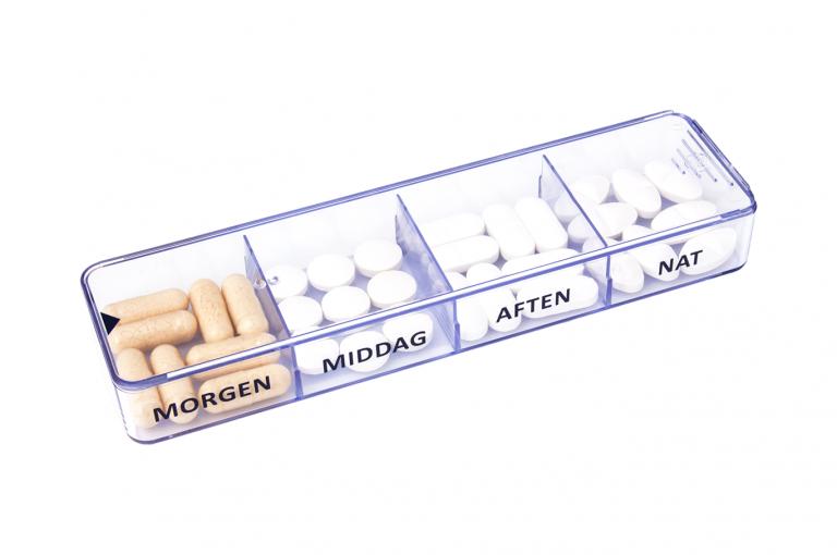 Medimax-DK-No3U-Single-Perspective-pill-dispenser-Kibodan-danish-design-B-X1