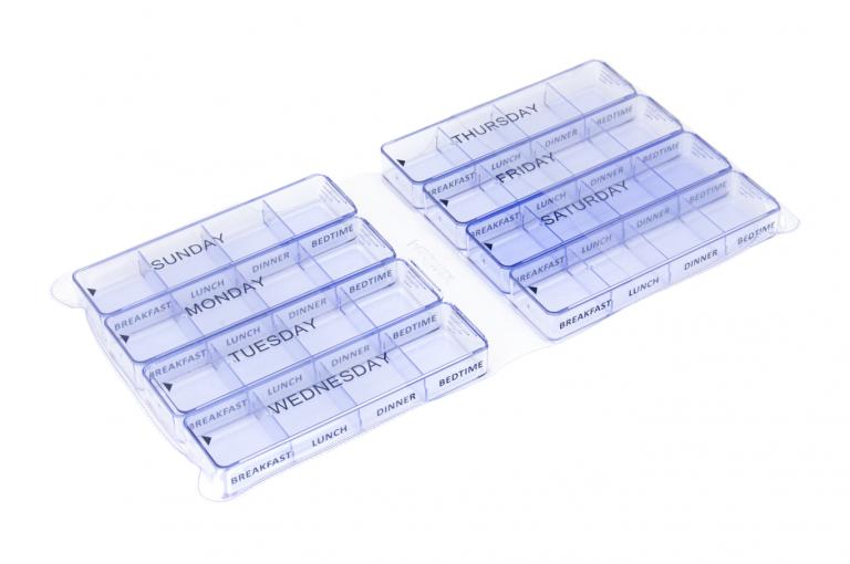 Medimax-GB-No2-Clear-Open-pill-dispenser-Kibodan-danish-design