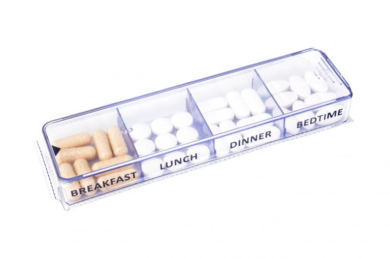 Medimax-GB-No3U-Sleeve-Clear-pill-dispenser-Kibodan-danish-design-B-X1