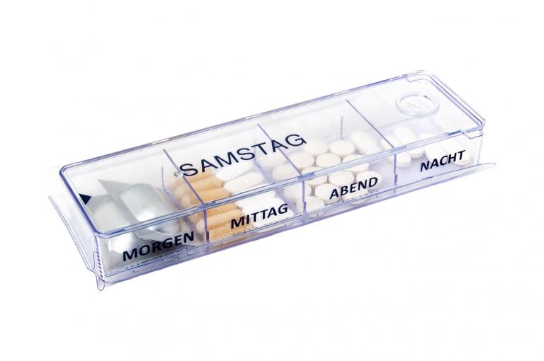Megamax-DE-No1-Sleeve-Clear-pill-dispenser-Kibodan-danish-design-B-X1