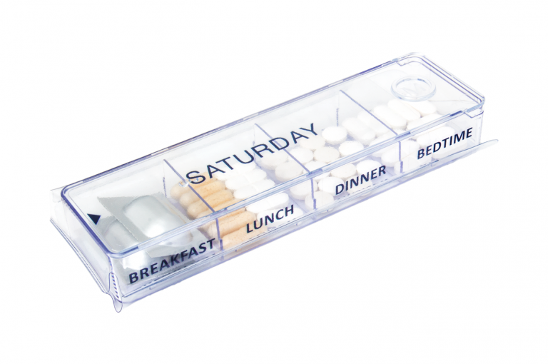 Megamax-GB-No1-Sleeve-Clear-pill-dispenser-Kibodan-danish-design-B-X1
