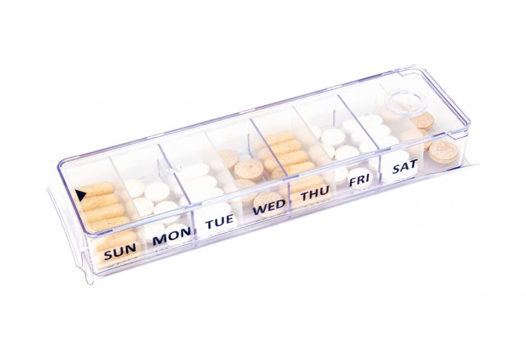 Megamax-GB-No4U-Sleeve-Clear-pill-dispenser-Kibodan-danish-design-B-X1