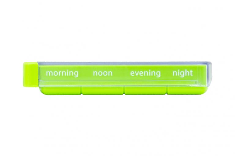 Mininizer-GB-No3U-Single-Side-pill-dispenser-Kibodan-danish-design-B-X1