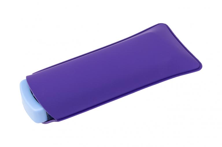 Mininizer-XX-No7-Sleeve-Purple-Closed-pill-dispenser-Kibodan-danish-design-B-X1